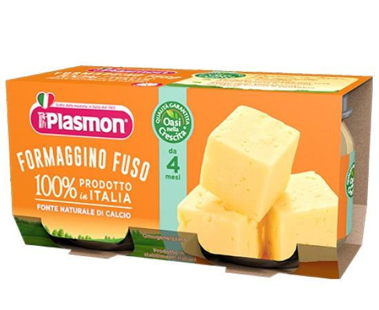 PLASMON OMO FORMAGGINO FUSO GR 80X2