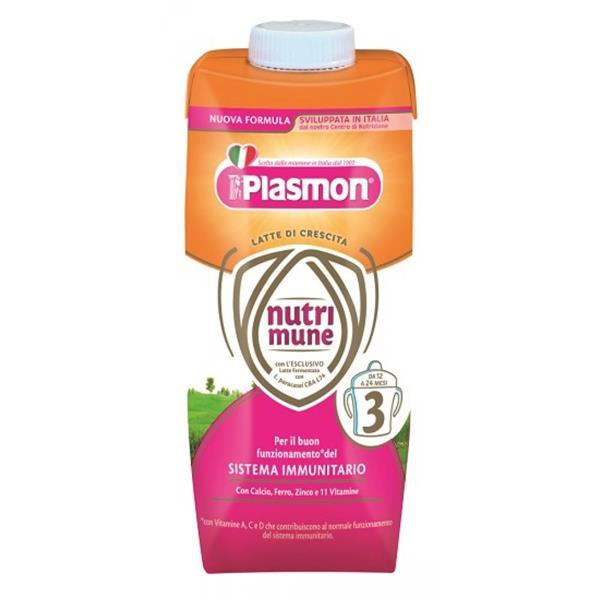 PLASMON LATTE NUTRIMUNE 3 LIQUIDO ML500