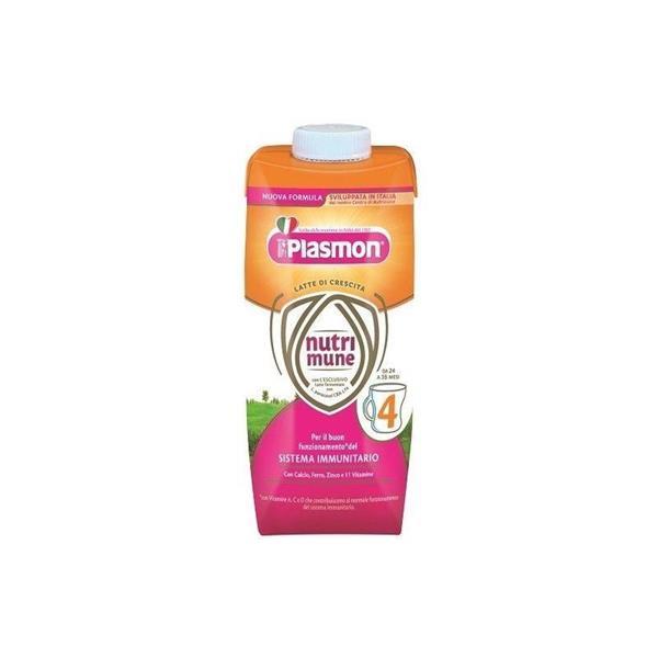 PLASMON LATTE NUTRIMUNE 4 LIQUIDO ML500