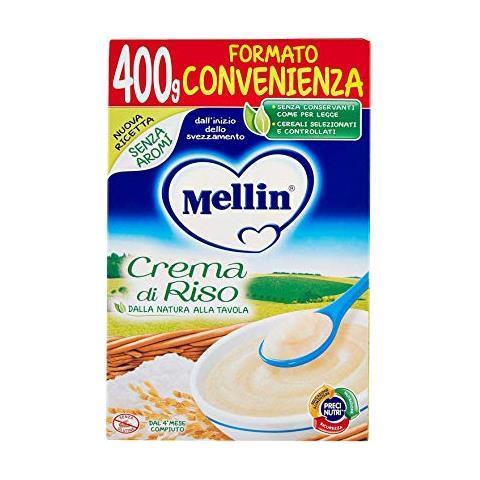 MELLIN FARINE CREMA RISO GR400