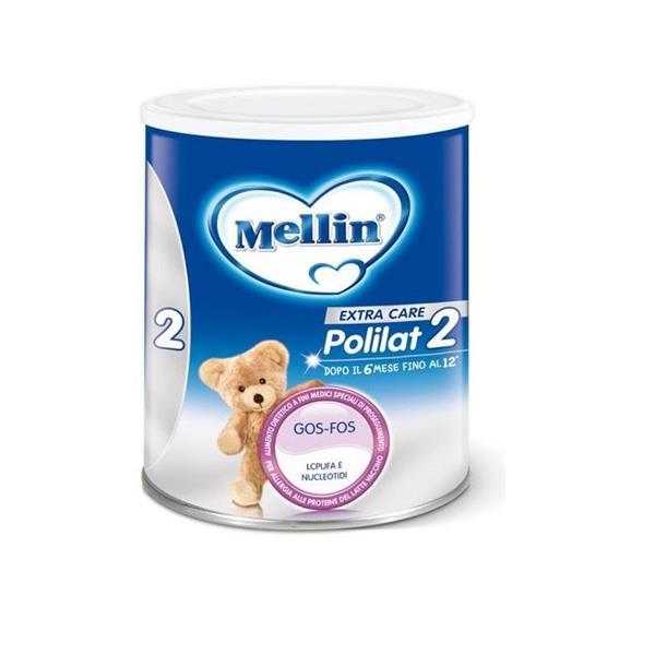 MELLIN POLILAT 2 LATTE POLVERE GR400