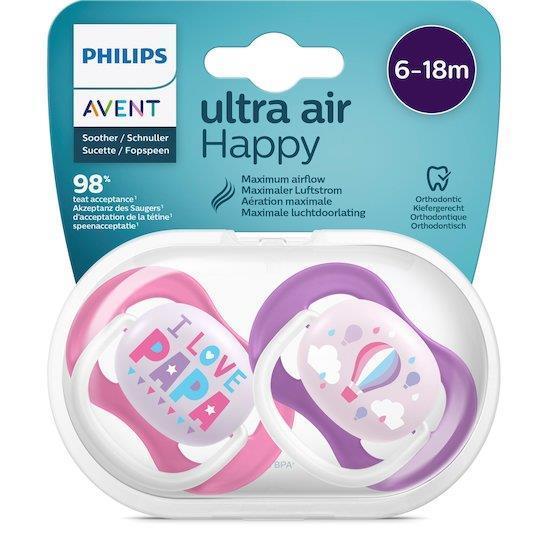 AVENT ULTRA AIR HAPPY PAPA 6-18 GIRL