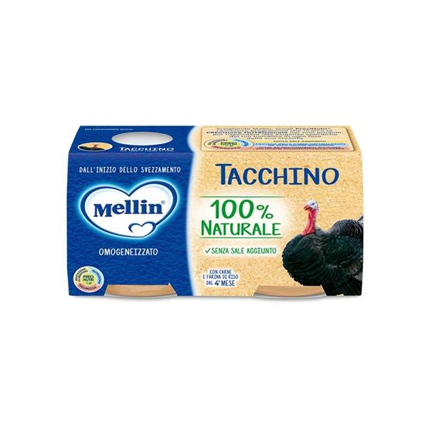MELLIN OMO CARNE 2X120 TACCHINO