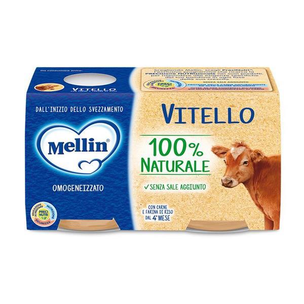 MELLIN OMO CARNE 2X120 VITELLO