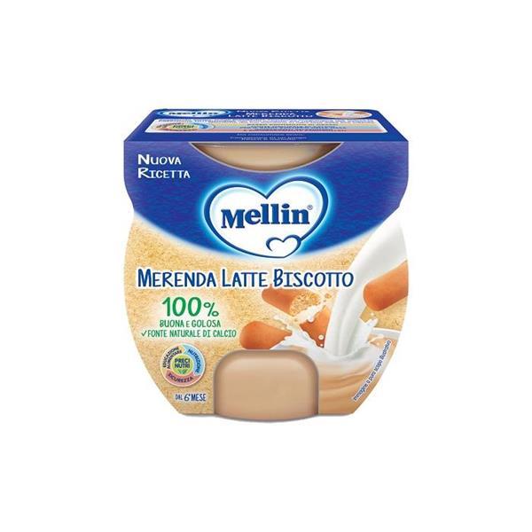 MELLIN MERENDA LATTE BISCOTTO GR200