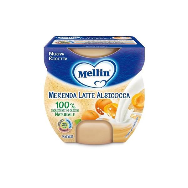 MELLIN MERENDA LATTE E ALBICOCCA GR200