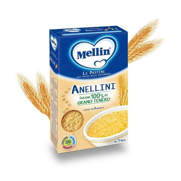 MELLIN PASTINA 350GR ANELLINI