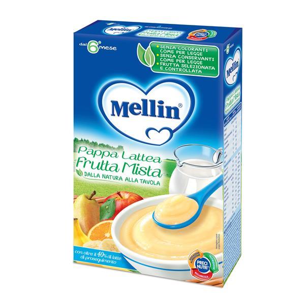 MELLIN FARINE PAPPA LATTEA/FRUTTA MISTA GR250