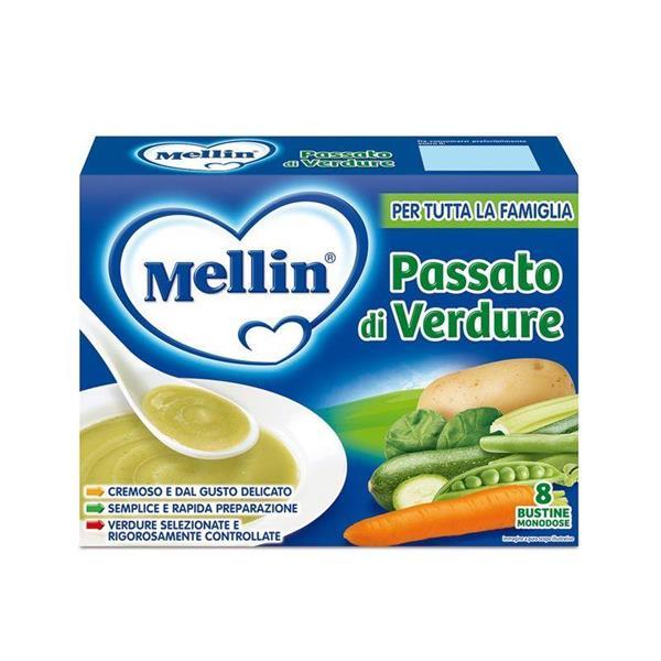 MELLIN BRODO PASSATO DI VERDURE BS10