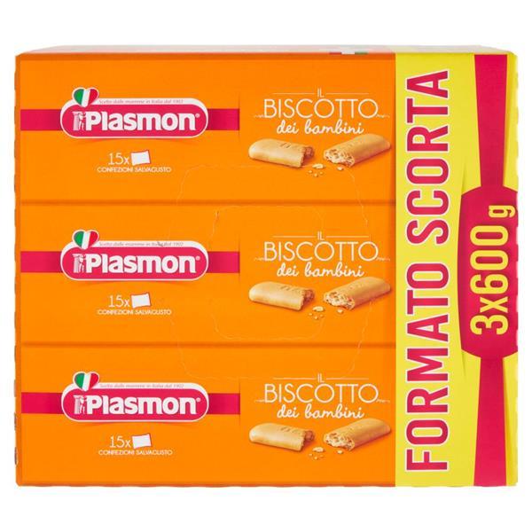 PLASMON BISCOTTO 3X600 GR