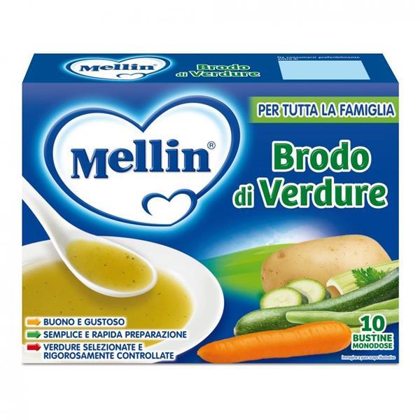 MELLIN BRODO DI VERDURE  10BS