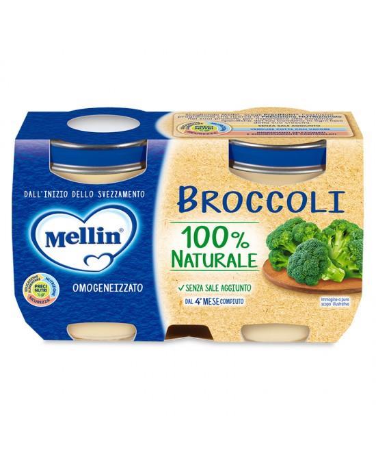 MELLIN OMO VERDURE BROCCOLI 2X125G