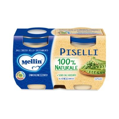MELLIN OMO VERDURE PISELLI 2X125G