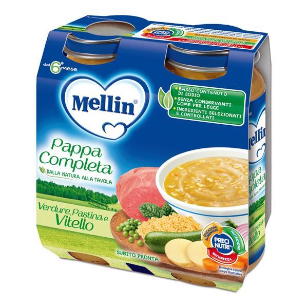 MELLIN PAPPA COMPLETA VITELLO GR250X2