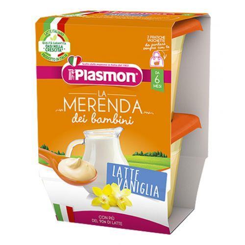 PLASMON OMO MERENDA 2X120 LATTE VANIGLIA