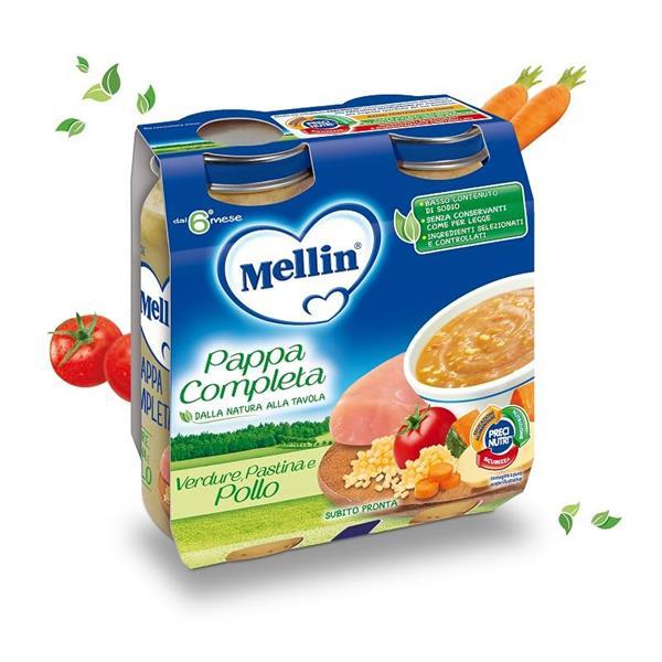 MELLIN PAPPA COMPLETA 2X250 POLLO