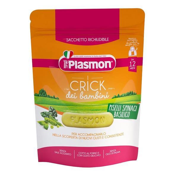 PLASMON CRICK SPINACI/PISELLI 100 GR