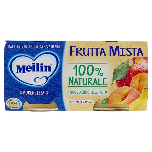 MELLIN OMO FRUTTA 2X100 FRUTTA MISTA