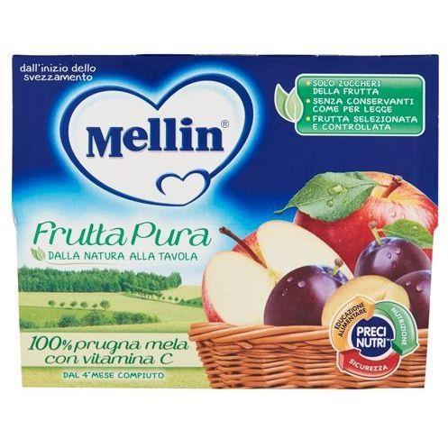 MELLIN FRUTTA PURA 4X100 PRUGNA MELA
