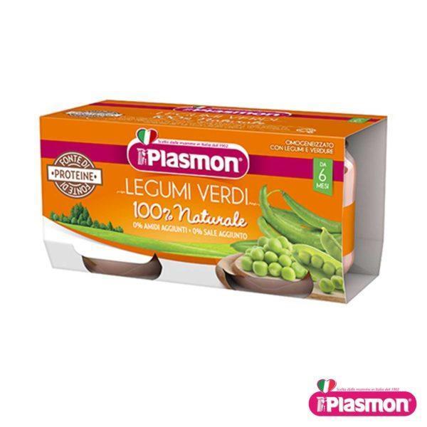 PLASMON LEGUMI VERDI  2X80 GR