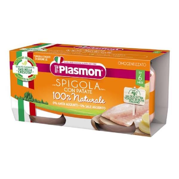 PLASMON OMO PESCE SPIGOLA GR 80X2