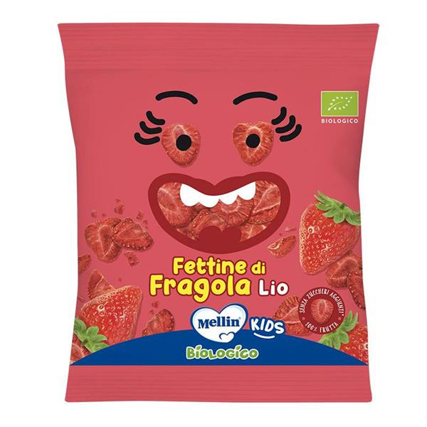 MELLIN FETTINE DI FRAGOLA   BIOLOGICO 15G