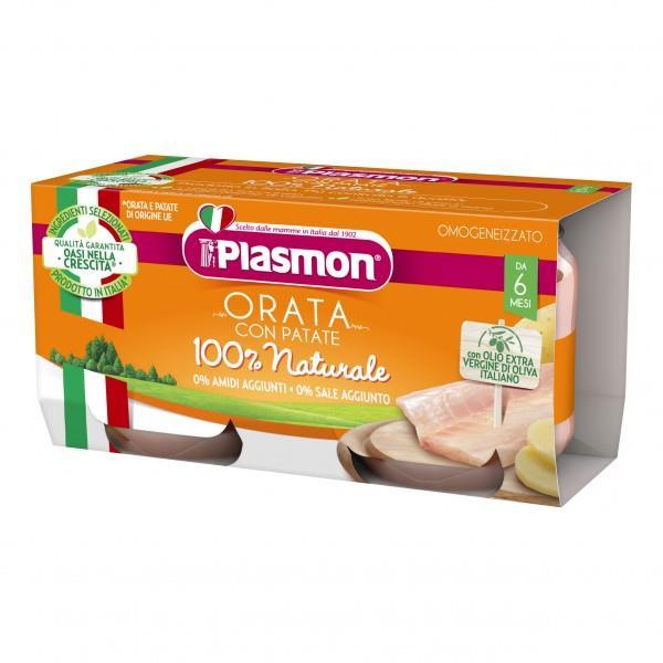 PLASMON OMO PESCE ORATA GR 80X2