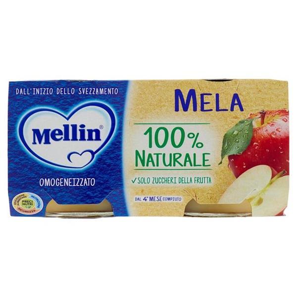 MELLIN OMO FRUTTA 2X100 MELA
