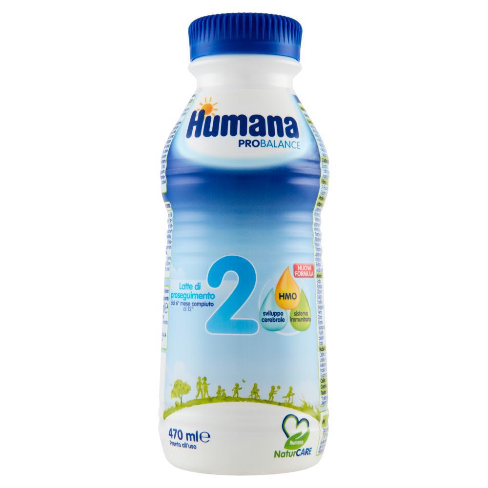 HUMANA LATTE 2 LIQ 470ML BOTTIGLIA