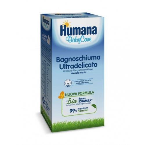 HUMANA BABYCARE BAGNOSCHIUMA ULTRADELICATO 200ML