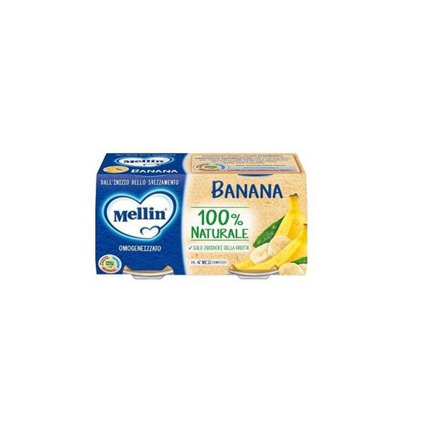 MELLIN OMO FRUTTA 2X100 BANANA