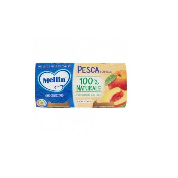 MELLIN OMO FRUTTA 2X100 PESCA MELA