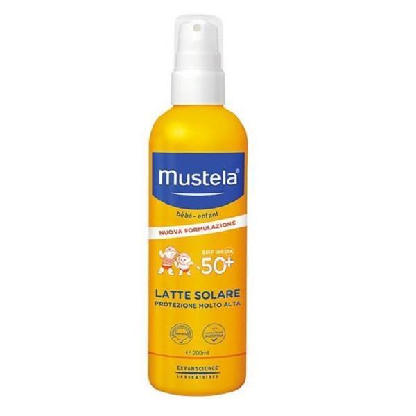 MUSTELA LATTE SOLARE 200ML  50+