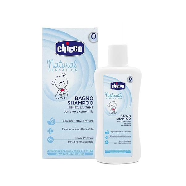 CHICCO NATURAL BAGNO SHAMPOO SENS ML200