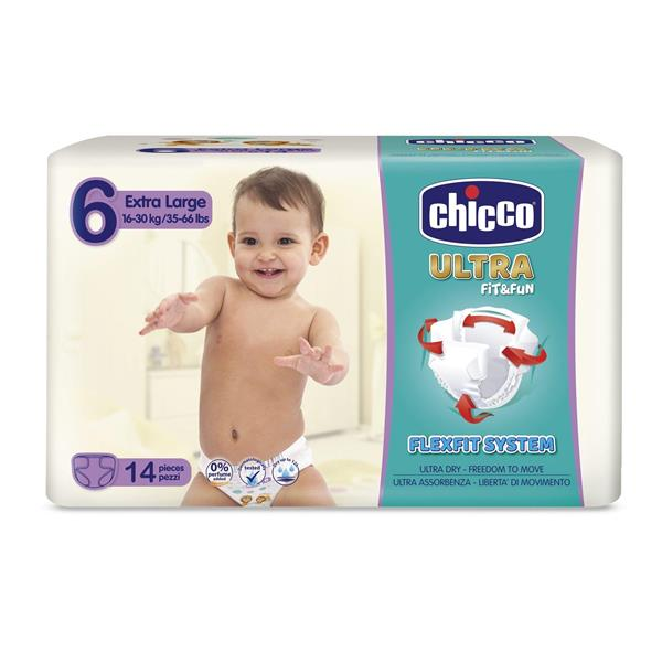 CHICCO ULTRA FIT FUN XL 16-30KG TG.6