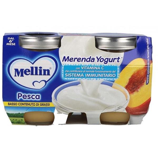 MELLIN OMO MERENDA2X120  YOGURT PESCA