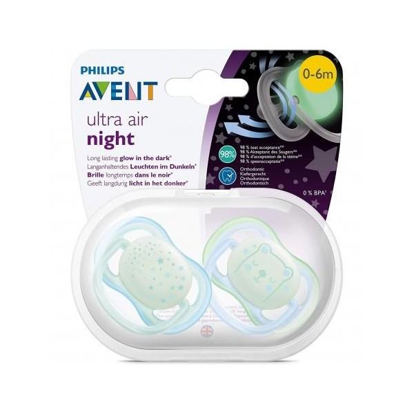 AVENT SUCCHIETTO ULTRA AIR 0-6  GIRL NIGHT