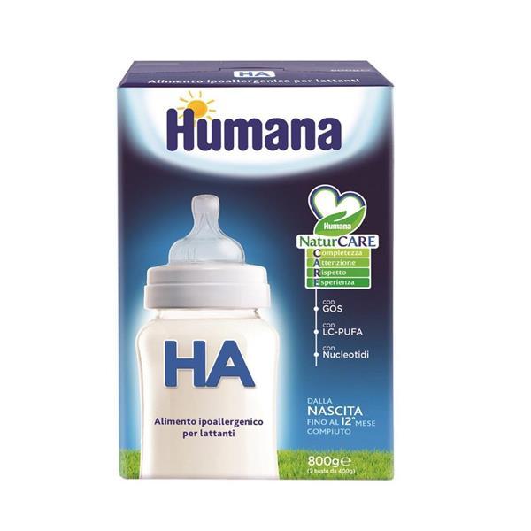 HUMANA LATTE HA NATCARE GR800