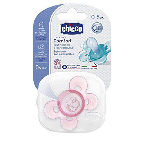 CHICCO 1 SUCCH COMF ROSA SIL 0-6M