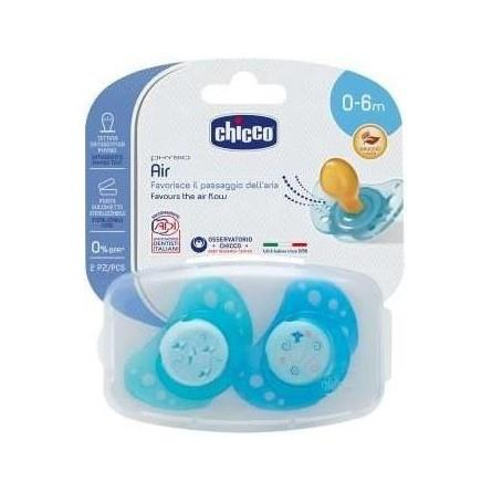 CHICCO 2 SUCCH AIR BLU 0-6M