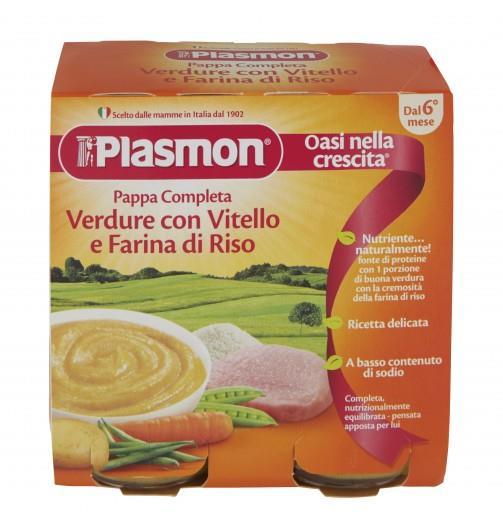 PLASMON OMO PAPPA VITELLO E VERDURE GR 190