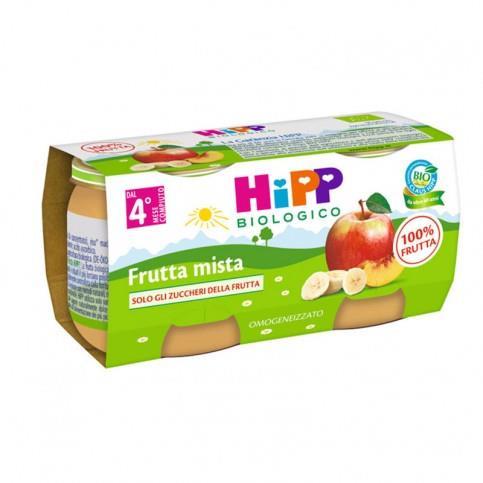 HIPP OMO FRUTTA 2X80 FRUTTA MISTA
