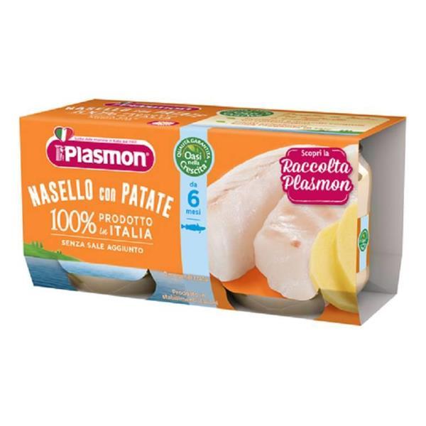 PLASMON OMO PESCE NASELLO GR 80X2